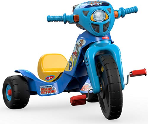 Fisher-Price Nickelodeon PAW Patrol Lights & Sounds Trike Multi Color, 1 - 6 years