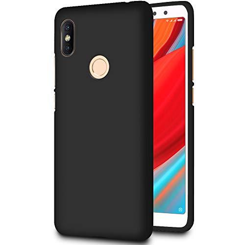 Slim Hülle für Xiaomi Redmi S2 (Redmi Y2)   Unifarben Tasche in Schwarz
