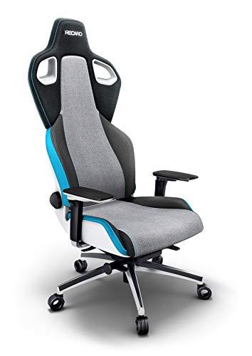 RECARO Exo Platinum Sky Gaming Chair – Ergonomischer, höhenverstellbarer Stuhl für Gamer mit 5D-Armlehne – Designer Gaming Seat
