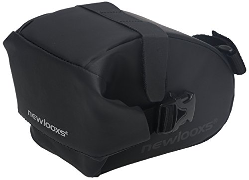 New Looxs Saddle Bag Sports Satteltasche, Black, 17 x 10 x 9 cm