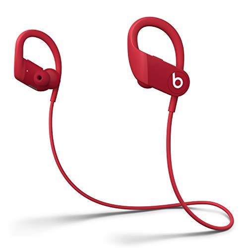 Auriculares Inalámbricos de Alto Rendimiento Powerbeats - Chip H1 de Apple, Bluetooth de Clase 1, 15 Horas de Sonido Ininterrumpido, Tapones Resistentes al Sudor - Rojo