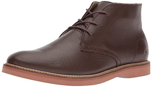 Lacoste Men's Sherbrooke Boots,Brown/Red leather,7 M US