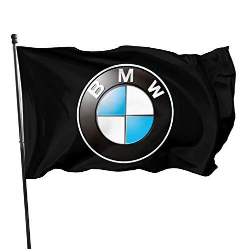 N/A Garten Banner,Hanging Flag Dekor,Wetterfest Fahne,Drinnen Dekoration Flagge,B-M-W Hochwertiges Flaggendekor In Premium-Qualität Für Häuser Und Gärten 150 X 90Cm