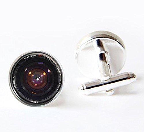 Gemelos de cámara, gemelos de lente de cámara, gemelos de fotógrafo, joyas...
