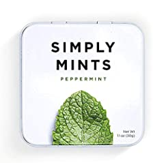 NATURAL AND BREATH FRESHENING: We use only the highest quality natural ingredients, with nothing artificial. Our Peppermint breath mints have a refreshing and cool Peppermint flavor, perfect for on-the-go freshening up. STAY FRESH: Our mints come in ...