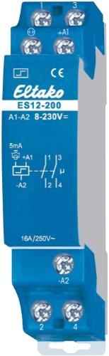 Eltako 2075760 ELTA ES12-200-UC 8.230V UC 2Schliesser Stromstossschalter elektronisch