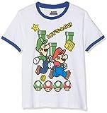 SUPER MARIO BROS Jungen 6592 T-Shirt  Weiß  164