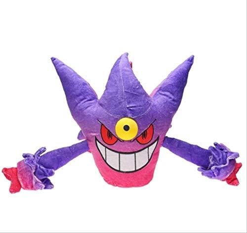 N\A Pokemon Mega Gengar Plüschtiere, Weihnachten Halloween Geburtstagsgeschenk Für Kinder 30cm lila
