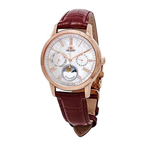 Orient Classic Sun and Moon Open Heart Ladies Watch RA-KA0001A10B