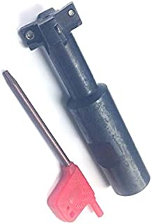 3//16 Shank Diameter Double End 2.25 Overall Length 1//8 Mill Diameter High Speed Steel 3//8 Flute Length F/&D Tool Company 17972-F14 Four Flute Small Diameter End Mill