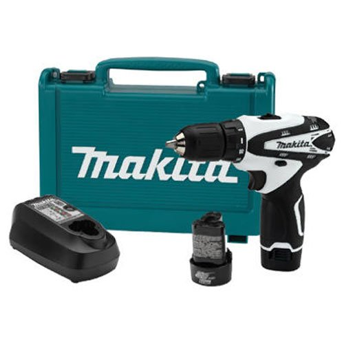 Makita FD02W 12V max Lithium-Ion Cordless 3/8' Driver-Drill Kit