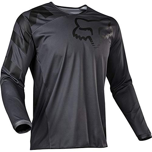 Bike Wear Mens Downhill Jersey Rage MTB Cycling Top Cycle Long Sleeve Spring Mountain Bike Shirt (Grey,XXL)
