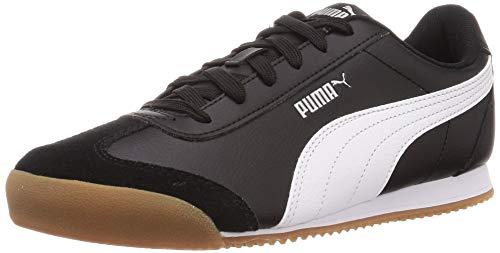 PUMA Turino, Zapatillas Unisex Adulto, Negro Black White/Gum, 37 EU