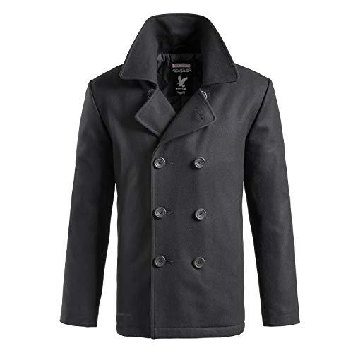 Surplus Herren PEA Coat, Schwarz, XXL
