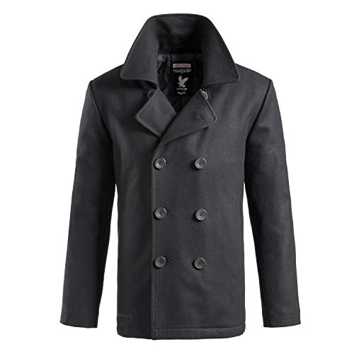 Surplus Herren PEA Coat, Anthracite, XL