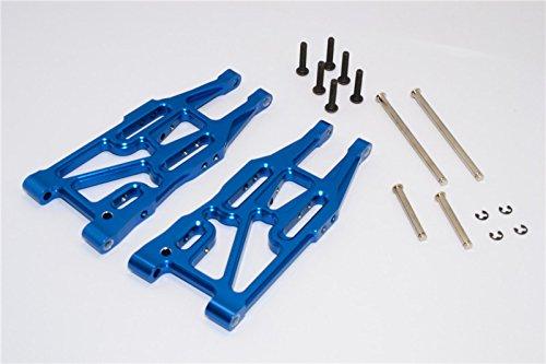 GPM HPI Bullet 3.0 Nitro & Bullet Flux Upgrade Pièces Aluminium Front Suspension Arm - 1Pr Set Blue