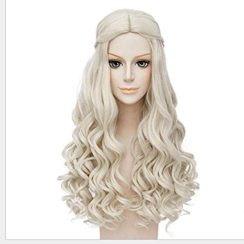 BGHJUE N Wigsynthetic Wigs For Women Wigs Can Be Cosplay Wigs Heat Resistant I S A Wig Aristocratic Curly Hair