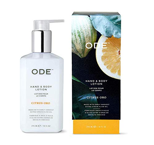 ODE Natural Beauty Hand & Body Lotion 10oz - CITRUS ORO