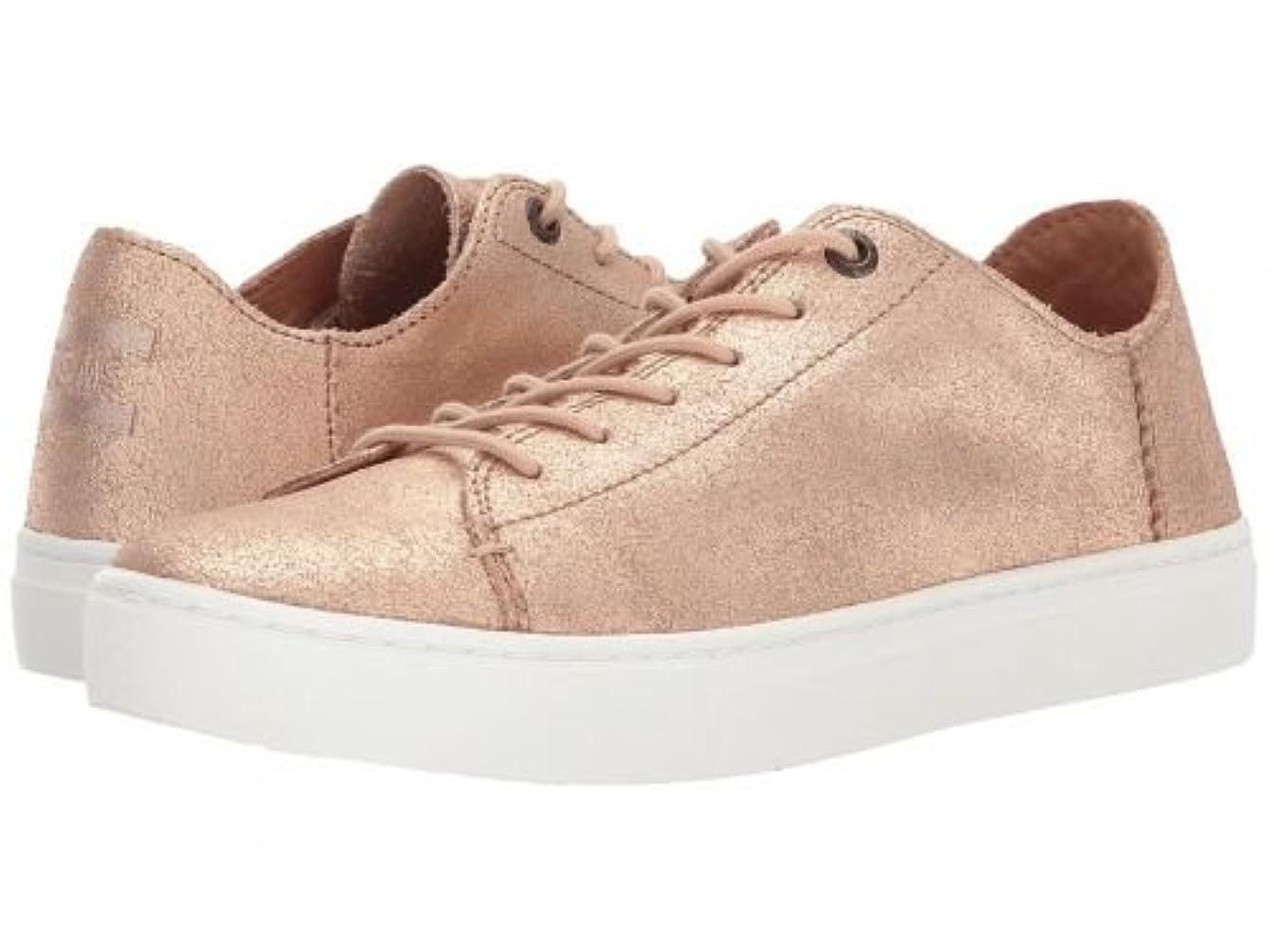 略すポルノ醜いTOMS(トムス) レディース 女性用 シューズ 靴 スニーカー 運動靴 Lenox - Rose Gold Metallic Leather 5 B - Medium [並行輸入品]