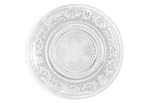 Villa d'Este Home Tivoli 2195440 Imperial - Juego de 6 platos para pan (cristal)