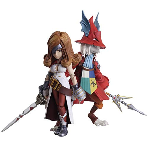 Square-Enix Final Fantasy IX Bring Arts Action Figures Freya Crescent & Beatrix 12-16 cm
