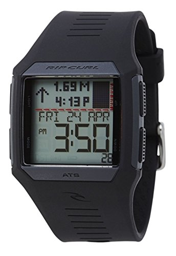 2017 Rip Curl Rifles Mid Tide Surf Watch in BLACK A1124