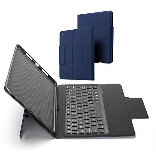 Bluetooth Keyboard For iPad 10.2 2019 Magnetic Keyboard Case For iPad 9.7/Air 2 3/Pro 9.7/10.5/11/10.9 Keyboard-Blue_iPad Pro 9.7 Air 1 2