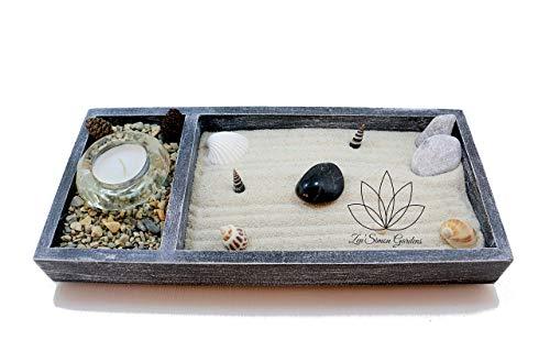 Jardin zen para Interior de Hogar o para la Decoracion de un Escritorio ॐ Zensimongardens®