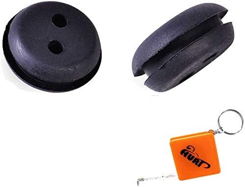 HURI 2X Gummitülle Dichtung Benzintank Gummitülle Gummistopfen Tankdurchführung für EINHELL Heckenschere N-BHS 26 - BHS 26, Jackson & Spears: SPJHT 26
