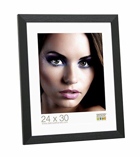 Deknudt Frames S41VH2 28 x 35 cornice nero resina