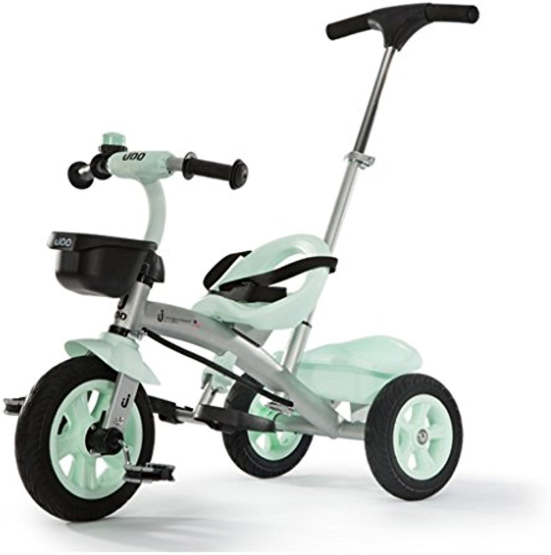 Kinder Dreirder Fahrradwagen Spielzeugautokinder im Alter von 1-6 Fahrrad ( Farbe   Grün )