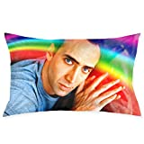 HAOYINGJUN Nicolas Cage Pillow Case 20' x 30' Inches Covers for Bedroom Safa Gifts, Double-Sided Printed (Pillow Core not Included)