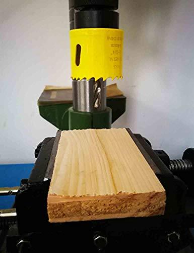 BINOTA Bi-Metal Hole Saw for Wood, Plywood, PVC, Gypsum Board, 152mm, 5-63/64 Inches