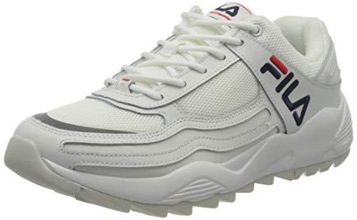 FILA Herren Refined 2.0 Low Sneaker, White, 44 EU