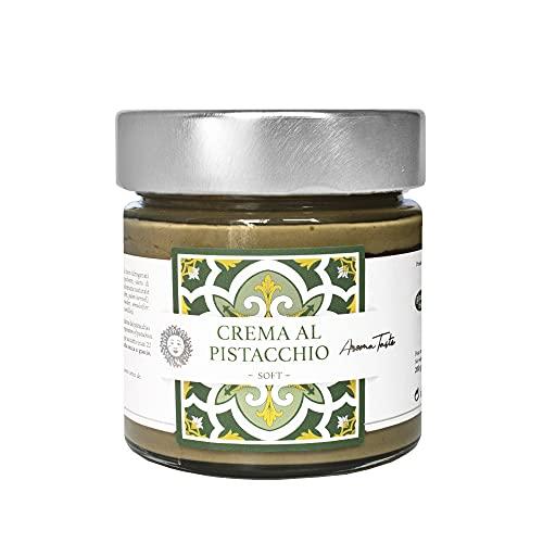Pistaziencreme mit Sizilianischer Pistazie. Italienische Gourmet Spezialitäten (200 g)