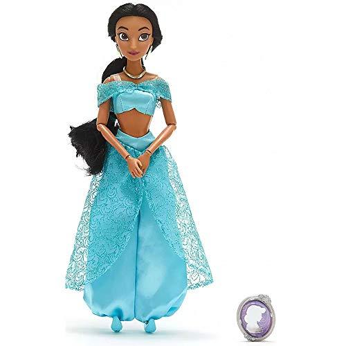 Muñeca clásica Oficial de Disney Aladdin - Princesa Jasmine de 28 cm