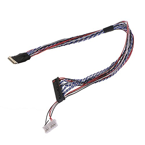 Rtengtunn I-PEX 20453-040T-11 40-poliges 2-Kanal-6-Bit-LVDS-Kabel für 10,1 bis 18,4-Zoll-LED-LCD-Anzeigen