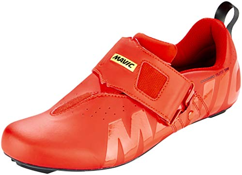 MAVIC Cosmic Elite Tri Triathlon Rennrad Fahrrad Schuhe rot 2019: Größe: 46