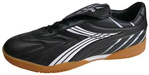 gibra® Herren Sportschuhe für die Turnhalle, Art. 4737, schwarz/weiß, Gr. 48