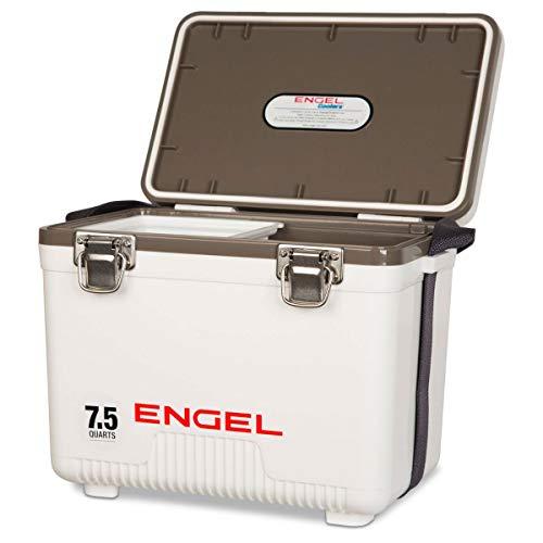 Engel 7.5 Qt Live Bait Cooler & Minnow Bucket - ENGLBC7-N