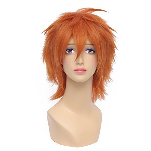 Flyingdragon DEATH NOTE L¡¤Lawliet Short Layered Black Cosplay Hair Wig