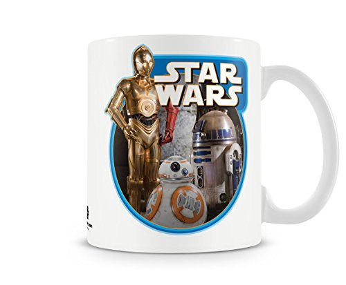 Offizielles Lizenzprodukt Star Wars - Vintage Droids Kaffeetasse, Kaffeebecher
