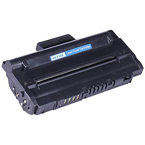 KSBIAO MLT-109 SCX-4300 SCX-D4200A Cartucho de tóner, reemplazo de Cartucho de tóner Compatible para la Impresora láser Samsung 4200, con Chip, Alto Rendimiento (Paquete de 4)-Black