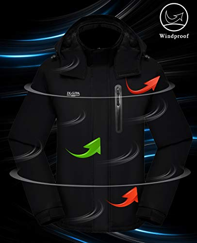 DLGJPA Women's Mountain Waterproof Ski Jacket
