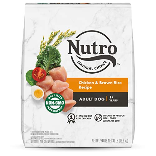 NUTRO NATURAL CHOICE Adult Dry Dog Food, Chicken &...