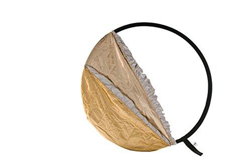 Lastolite LLLR3096 - Reflector de 75 cm, sunfire/Plata/Oro/Blanco