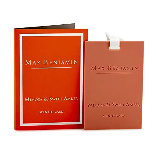 Max Benjamin Max Benjamin Mimosa & Sweet Amber Duftkarte