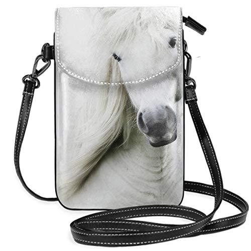 LEPO'S Handy-Umhängetasche Tasche Handtasche Schneewittchen Crossbody Smartphone Geldbörse