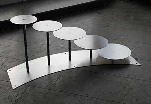 Support à gâteaux à 4 étages en aluminium tortenetagere pièce rond, ø 20–24–28–30–32 cm