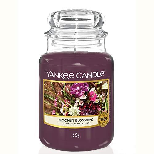 Yankee Candle Duftkerze im großen Jar, Moonlit Blossoms